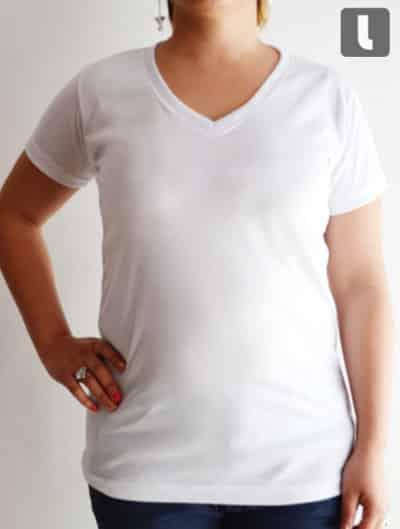 063c32ec29063 Playera cuello tipo V para mujer – Leonsso